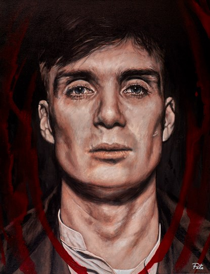 Tommy by Pete Humphreys - Original Painting on Stretched Canvas